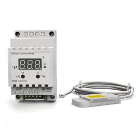 Регулятор-измеритель влажности цифровой на DIN-рейку DEUS Electro РВ-16 Д-AM 2302 220 В 16 А