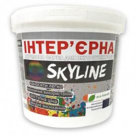 Краска акриловая интерьерная Skyline 1 л