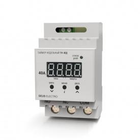 Таймер недельный цифровой на DIN-рейку DEUS Electro ТН-40 Д 40 А 220 В