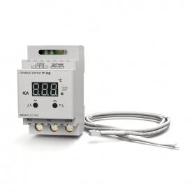 Терморегулятор регулятор температуры цифровой на DIN-рейку DEUS Electro ТР-40 Д 40 А 220 В