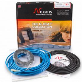 Теплый пол Nexans Millicable Flex 15 двухжильный нагревательный кабель 600 Вт