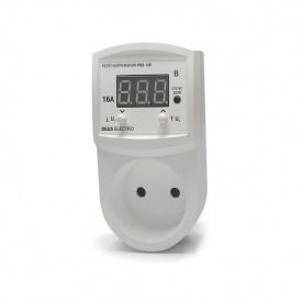 Реле контроля напряжения устройство защиты от перепадов напряжения DEUS Electro РКН-16 Р-V 2 16 А 220 В