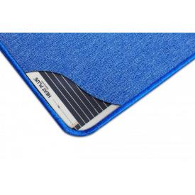 Електричний нагрівальний килимок SolRay 830х830 мм синій