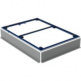 Инсталляционная рама Geberit для поверхности душевой зоны для поддона Setaplano 100х140 см 154.484.00.1