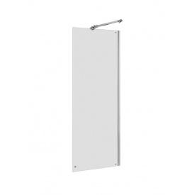 CAPITAL стенка 90x195см душевая алюминиевый хром профиль Roca AM4409012M