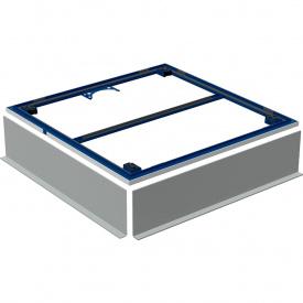 Инсталляция для поверхности душевой зоны Geberit для душевого поддона Setaplano 100x90 см 154.471.00.1