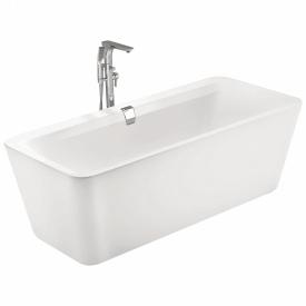 Ванна отдельно стоящая 1800x800x620мм акриловая слив перелив белая VOLLE 12-22-110C