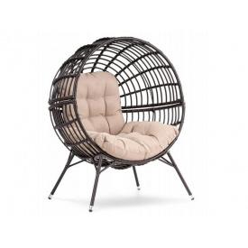 Садовое кресло Arancia коричнево-бежевый