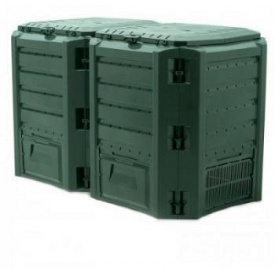 Компостер Prosperplast MODULE COMPOGREEN 800 л, зеленый (5905197695457)