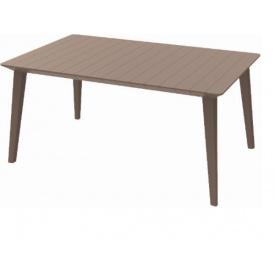 Стол пластиковый Allibert Lima 160, беж (8711245140452)
