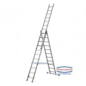 Лестница 3-секционная ELKOP VHR 3*17
