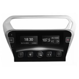 Штатная магнитола Gazer CM6510-ELS (Peugeot 301 2014-2017)