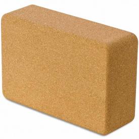 Блок для йоги USA Style LEXFIT 3х6х9 пробковый, LKEM-3091-3