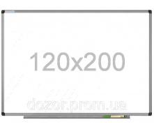 Доска магнитно-маркерная в алюминиевой раме Tetris DMM 120×200