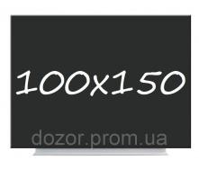 Доска магнитная меловая черная безрамная Tetris VMM 100х150