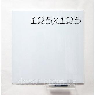 Доска стеклянная магнитная маркерная Tetris SMM125х125