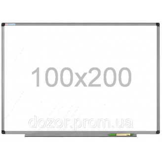 Доска магнитно-маркерная в алюминиевой раме Tetris DMM 100×200