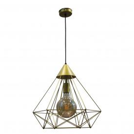 Светильник подвесной в стиле лофт MSK Electric Е27 (NL 0541 G)
