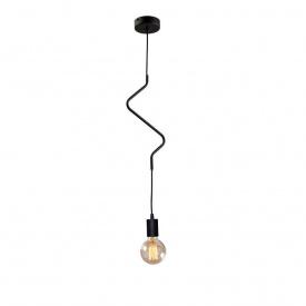Светильник подвесной на одну лампу MSK Electric Е27 металл (NL 1442 ZIGZAG)