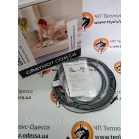 Нагрівальний кабель GrayHot 15 186 Вт 1,0-1,6 м2