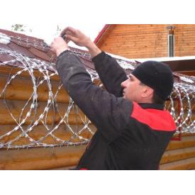 Егоза СББ-450 колючая проволока 3-скобы/ТХ