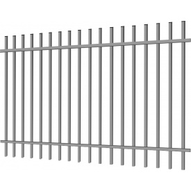 Калитка Дзен 1х1.5 из металлической профильной трубы
