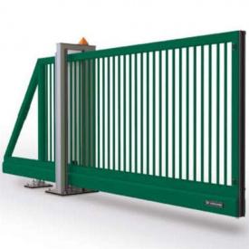 Ворота распашные 2,5х1,23 м/ППЛ