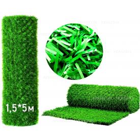 Забор Green mix зелёная трава H -1,2х5