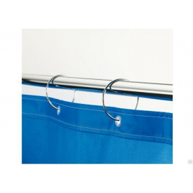 Карниз в ванную для занавески прямой 190см Комфорт