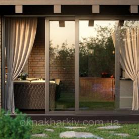Панорамные двери VEKASLIDE под заказ