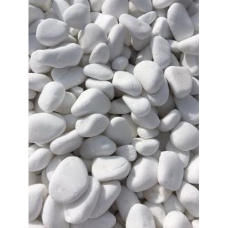 Мармурова галька Thassos White 60-100 мм