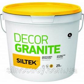 Штукатурка декоративна Граніт натуральний Siltek Decor Granite 25 кг