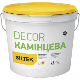 Декоративна штукатурка структурна Siltek Decor КАМІНЦЕВА 25 кг