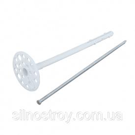 Термодюбель з металевим цвяхом 10 х 220 мм