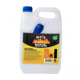 Биотопливо Ditol для камина 4 л