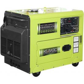 Генератор дизельный Konner&Sohnen Basic KSB 6000DES ATSR (5.5 кВт)
