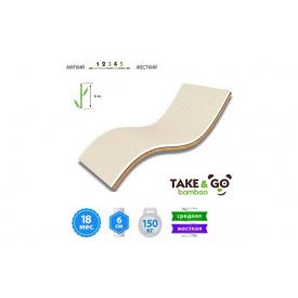 Мини-матрас Take&Go Bamboo Ultra Kokos 140х190