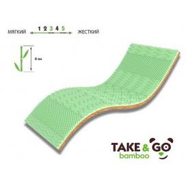 Мини-матрас Take&Go Bamboo Green Kokos 90х190