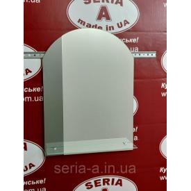 Зеркало в ванную №74 арка с декором (675х500х120 мм)