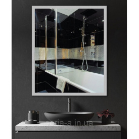 Зеркало с подсветкой LED в ванную ML - 12 40х60
