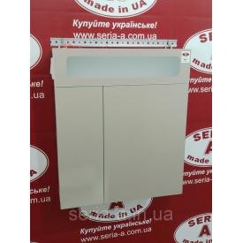Зеркальный шкафчик панорамного типа для ванной с оригинальной подсветкой А24-60