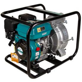 Мотопомпа для грязной воды Leo 6.5 л.с. Hmax 29 м Qmax 60 м (4-ёх тактный) (772517)