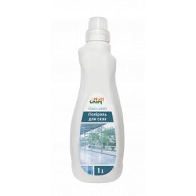 Полироль для стекла с эффектами: очистка антистатик защита от пальцев дезинфекция блеск Glass polish 1 л