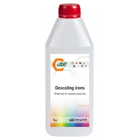 Засіб очищення від накипу прасок Descaling irons 1 л