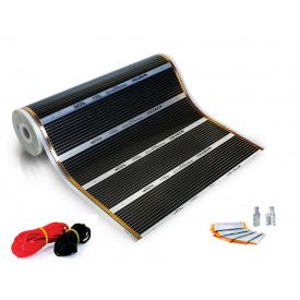 Інфрачервона плівкова тепла підлога HEAT PLUS 9 м²/1980 Вт/220 Вт/м² (ширина 100 см)