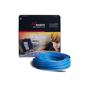Двужильный греющий кабель Nexans 24,3м² TXLP/2R 3300/17