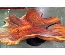 Эксклюзивный деревянный столик Код: СЖ-2 Под заказ