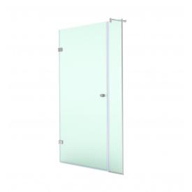 Распашная душевая дверь в нишу 190х90 СтеклоДизайн