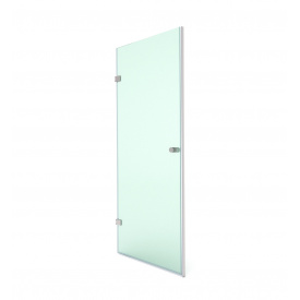 Распашная душевая дверь в нишу 200х80 СтеклоДизайн