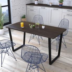 Обеденный стол Трапеция Loft-Design лдсп Венге корсика